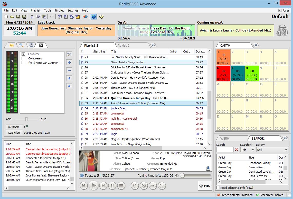 RadioBoss 5.8.2.0