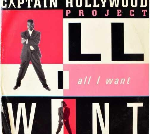 Premiera singla ALL I WANT Captain Hollywood Project